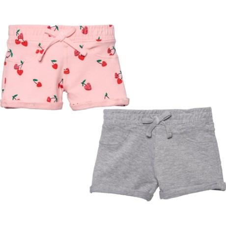 b49b9d9cd759a VIGOSS Roll-Up Cuff Shorts - 2-Pack (For Little Girls) in