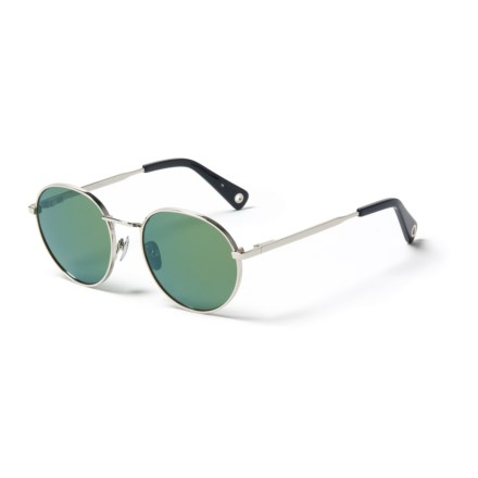 8634c9770849 Clearance. VILEBREQUIN Roue Mirror Sunglasses (For Men and Women) in Silver  Green