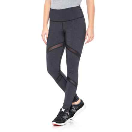 High-Waist Impact Leggings (For Women) in Heather Charcoal - Closeouts