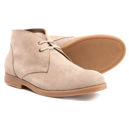 Vince Camuto Kamin Chukka Boots - Suede (For Boys) in Sand - Closeouts