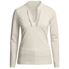 Vineyard Vines Louise Shirt - Pima Cotton, Long Sleeve (For Women) in Vanilla - Closeouts
