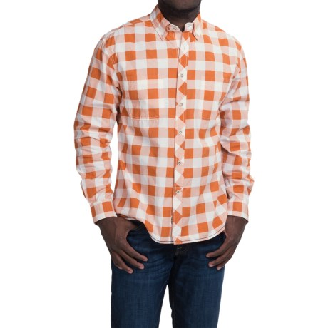 Vintage 1946 Buffalo Check Shirt Long Sleeve (For Men)
