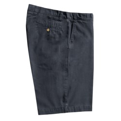 Vintage 1946 Cotton Poplin Shorts - Flat Front (For Men) in Navy