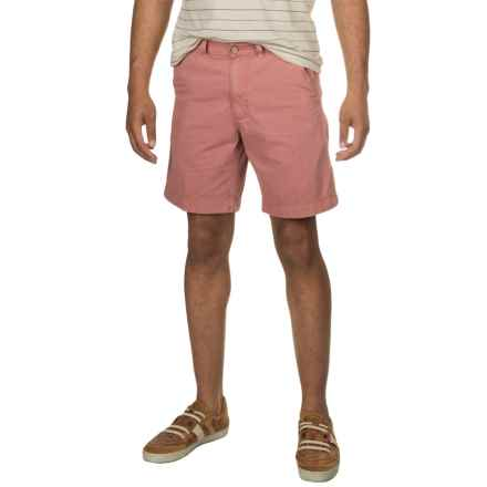 Vintage 1946 Cotton Twill Shorts (For Men) in Charleston Brick - Closeouts