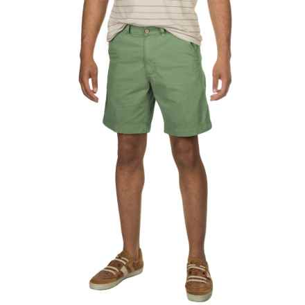 Vintage 1946 Cotton Twill Shorts (For Men) in Shale - Closeouts