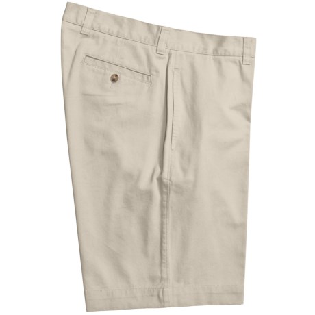 Vintage 1946 Cotton Twill Shorts (For Men) in Sunshine