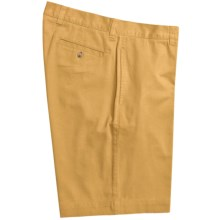 Vintage 1946 Cotton Twill Shorts (For Men) in Sunshine - Closeouts
