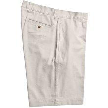 Vintage 1946 Cotton Twill Shorts (For Men) in White - Closeouts