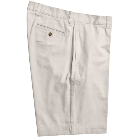 Vintage 1946 Cotton Twill Shorts (For Men) in White