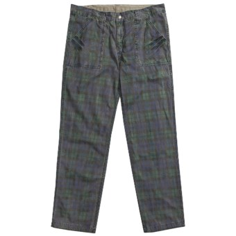 Vintage 1946 Croix Pants - Reversible (For Men) in Blackwatch/Taupe