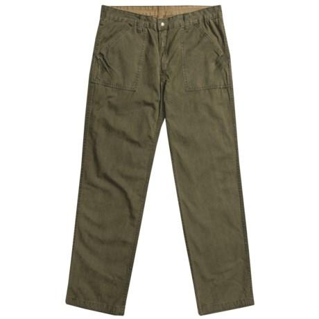 Vintage 1946 Croix Pants - Reversible (For Men) in Blackwatch/Taupe