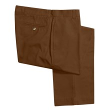 Vintage 1946 Enzyme Stonewash Pants - Cotton Twill  (For Men) in Brown - Closeouts