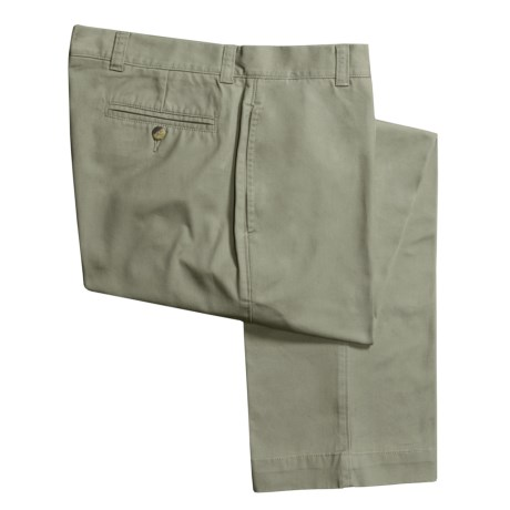 Vintage 1946 Enzyme Stonewash Pants - Cotton Twill  (For Men) in Stone