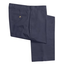 Vintage 1946 Enzyme Stonewash Pants - Cotton Twill  (For Men) in Navy - Closeouts