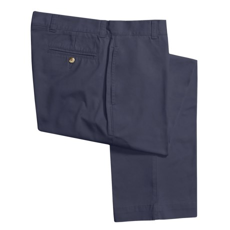 Vintage 1946 Enzyme Stonewash Pants - Cotton Twill  (For Men) in Navy