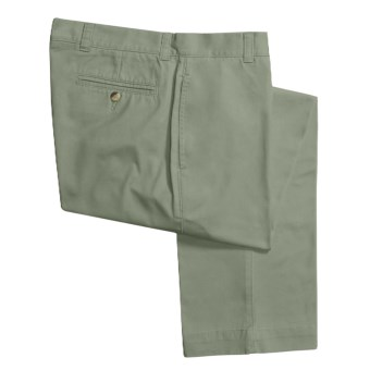 Vintage 1946 Enzyme Stonewash Pants - Cotton Twill  (For Men) in Sage