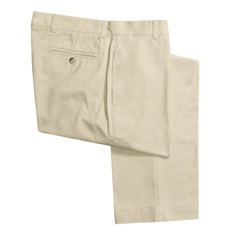 Vintage 1946 Enzyme Stonewash Pants - Cotton Twill  (For Men) in White