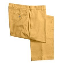 Vintage 1946 Enzyme Stonewash Pants - Cotton Twill  (For Men) in Sunshine - Closeouts