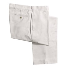 Vintage 1946 Enzyme Stonewash Pants - Cotton Twill  (For Men) in White - Closeouts