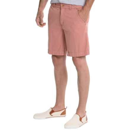 """Vintage 1946 FF9 Canvas Shorts - 8.5"""" (For Men) in Charleston Brick - Closeouts"""