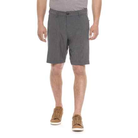 Vintage 1946 Hybrid Fixed Waist Shorts (For Men) in Navy - Overstock