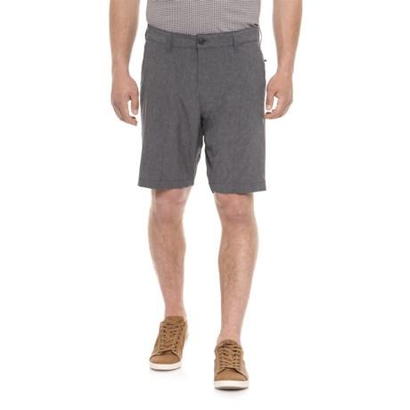 Vintage 1946 Hybrid Fixed Waist Shorts (For Men) in Navy