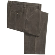 Vintage 1946 Jamaica Pants - TENCEL®-Cotton, Pigment Print (For Men) in Dark Brown - Closeouts