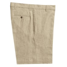 Vintage 1946 Linen Shorts  (For Men) in Natural - Closeouts