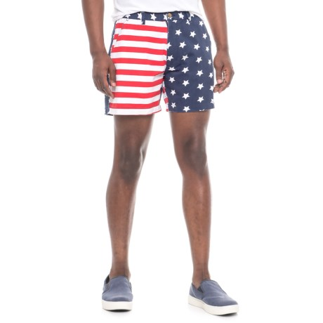 Vintage 1946 Snappers Americana Shorts (For Men) in Navy