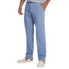 Vintage 1946 Snappers Cotton Pants (For Men) in Blueberry - Closeouts