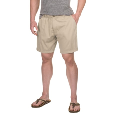 "Vintage 1946 Snappers Pull-On Shorts - 7"" (For Men)"