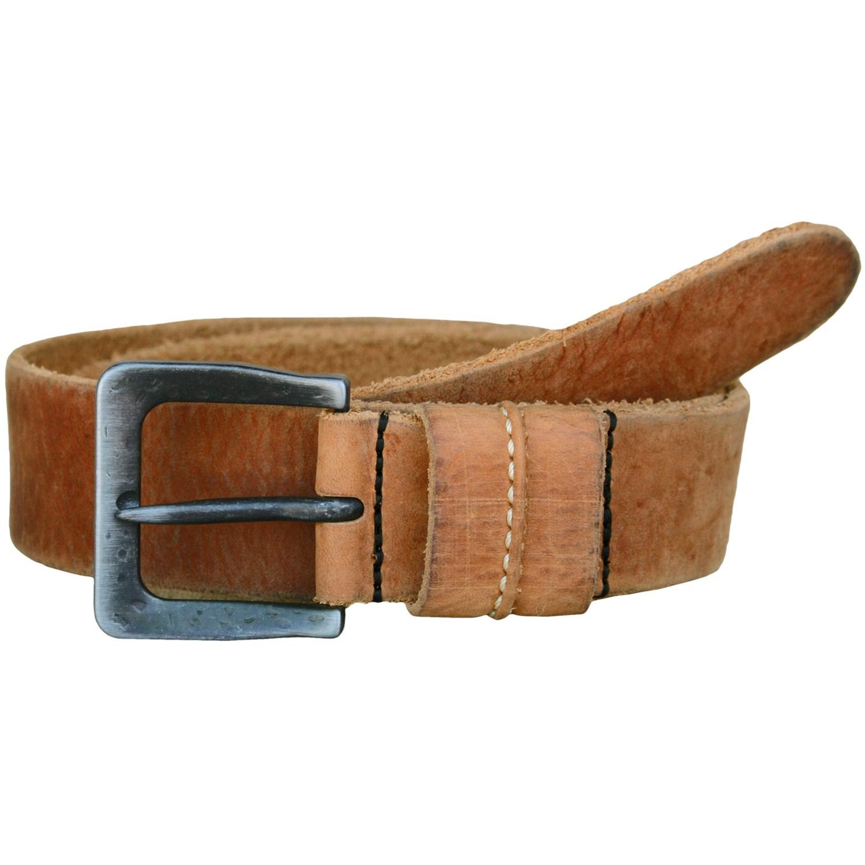 vintage american belts distressed leather belt for