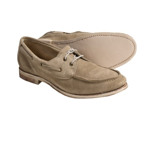 Vintage Hampton Shoes - Leather (For Men) in Stone