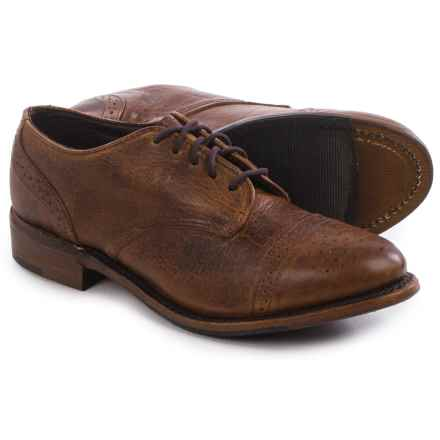 Vintage Josie Brogue Shoes - Lace-Ups (For Women) in Peanut Bison - Closeouts