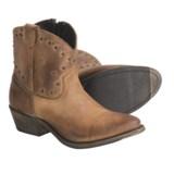 Vintage Luisa Studded Cowboy Zip Boots - Short (For Women)