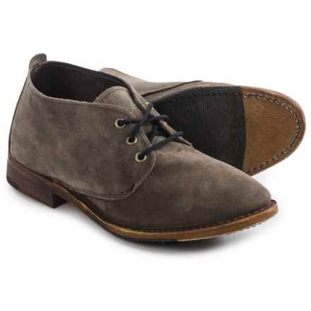 Vintage Shoe Company Ansley Shoes - Lace-Ups (For Women) in Anthracite Suede - Closeouts