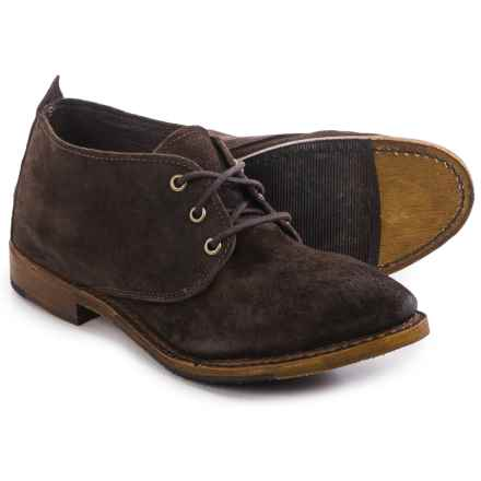 Vintage Shoe Company Ansley Shoes - Lace-Ups (For Women) in Dark Brown Suede - Closeouts