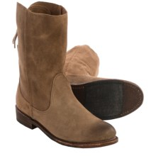 Vintage Shoe Company Erin Leather Boots (For Women) in Cork Suede - Closeouts