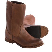 Vintage Shoe Company Erin Leather Boots (For Women) in Havana Harness Full Grain - Closeouts
