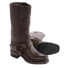 Vintage Shoe Company Gretchen Harness Boots - Leather (For Women) in Chocolate - Closeouts