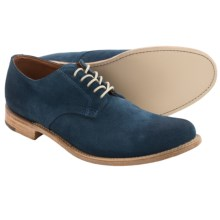 Vintage Shoe Company Rockwell Suede Shoes (For Men) in Medium Blue Suede - Closeouts