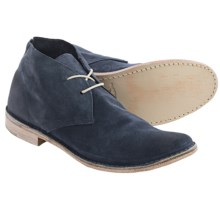 Vintage Shoe Company Sherwood Chukka Boots - Leather (For Men) in Blue Suede - Closeouts