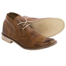 Vintage Shoe Company Sherwood Chukka Boots - Leather (For Men) in Brown Harness Full Grain - Closeouts