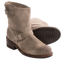 Vintage Shoe Company Sophie Harness Boots - Leather (For Women) in Nutria - Closeouts