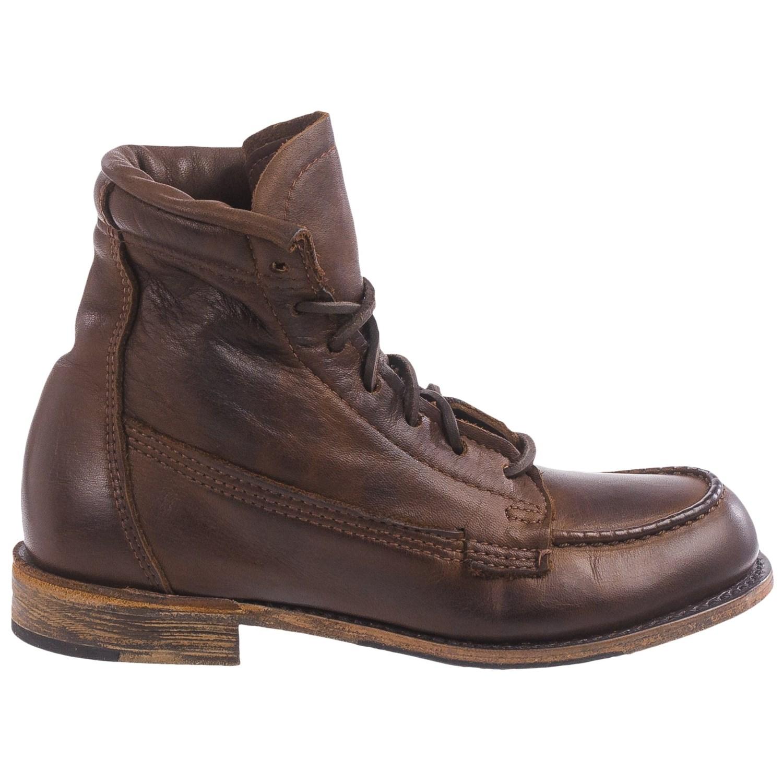 vintage shoe company moc toe boots for