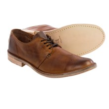 Vintage Shoe Company Ziba Leather Oxford Shoes (For Men) in Brown Harness Full Grain - Closeouts