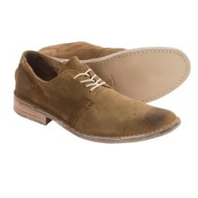 Vintage Shoe Company Ziba Leather Oxford Shoes (For Men) in Tan Suede - Closeouts