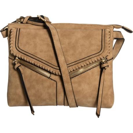 73cb3d039 Violet Ray Leanne Crossbody Bag - Vegan Leather (For Women) in Natural