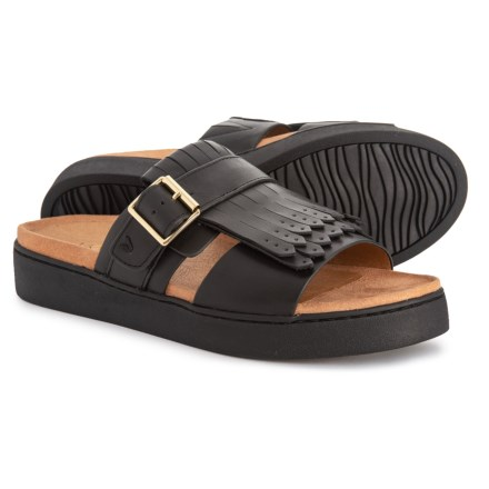 1f94261cb2e71 Vionic Fillmore Kiltie Slide Sandals (For Women) in Black