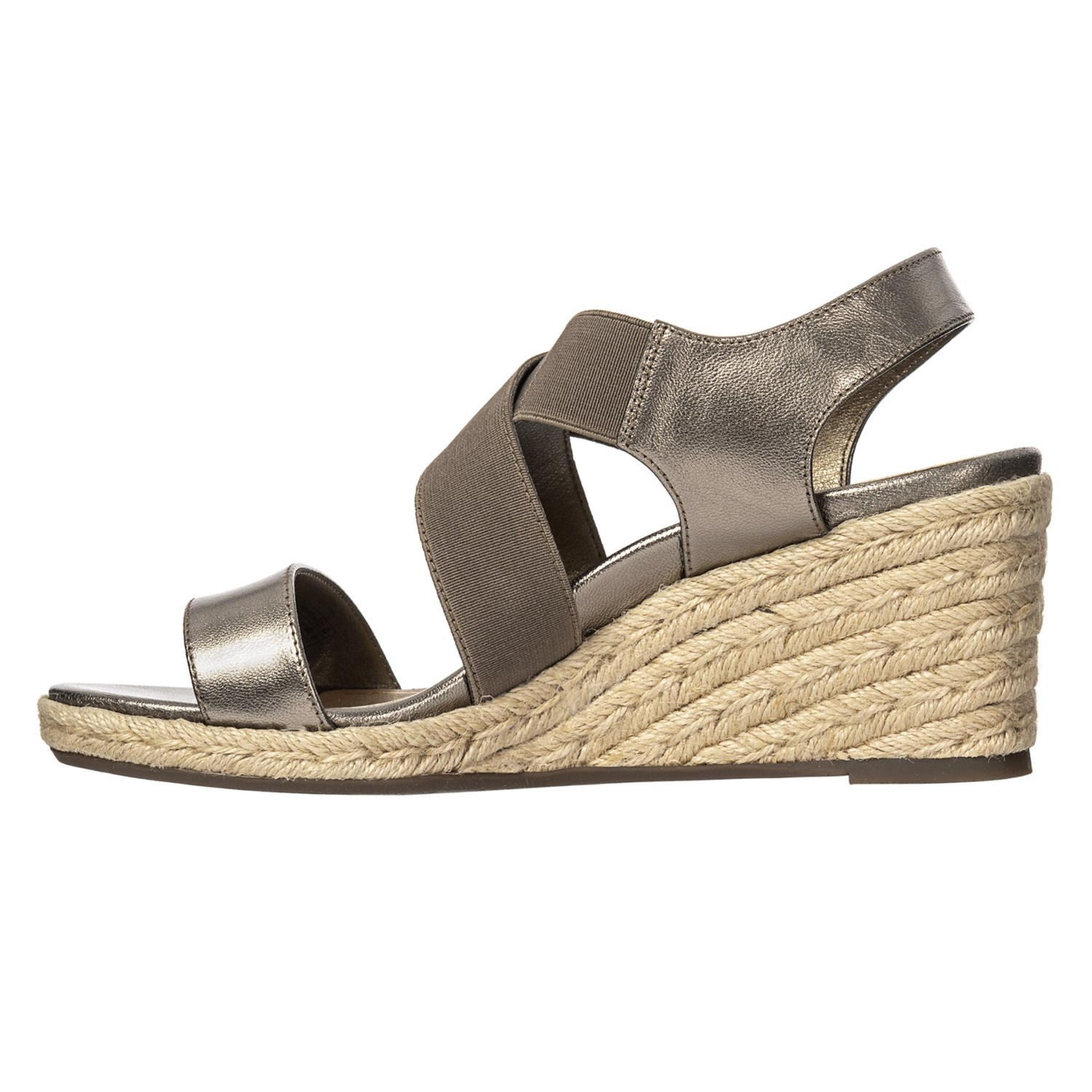 3f77055371f7 Vionic Orthaheel Technology Ainsleigh Wedge Sandal - Leather (For Women)